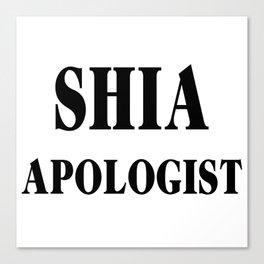 Shia Canvas Print