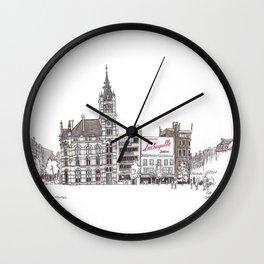 Librairie Moliere, Charleroi Wall Clock