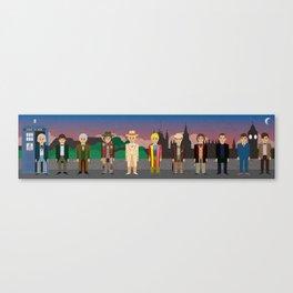 Eleven Canvas Print