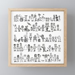 SOMA 2008 Framed Mini Art Print