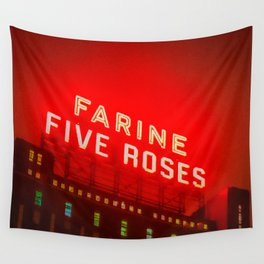 Iconic Montreal - Farine Five Roses Wall Tapestry