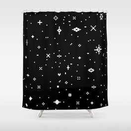 Meaningless Shower Curtain