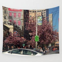 Pike and Pine, Spring Wall Tapestry