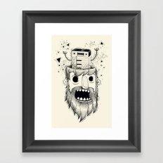 Synth-POP Framed Art Print