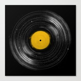 Sound System Canvas Print