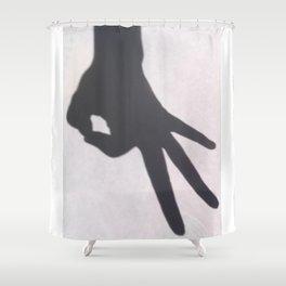Circle Game Shower Curtain