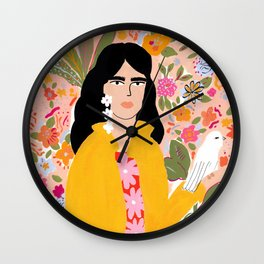 Doves Paradise Wall Clock