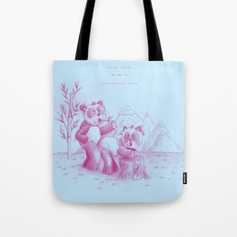Endangered Love - Panda Sutra Tote Bag