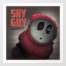 Shy Guy - Mushroom Health Art Print