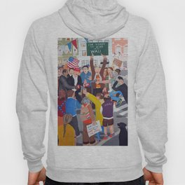 The colourful Assassination of Donald Trump in New York City Hoody