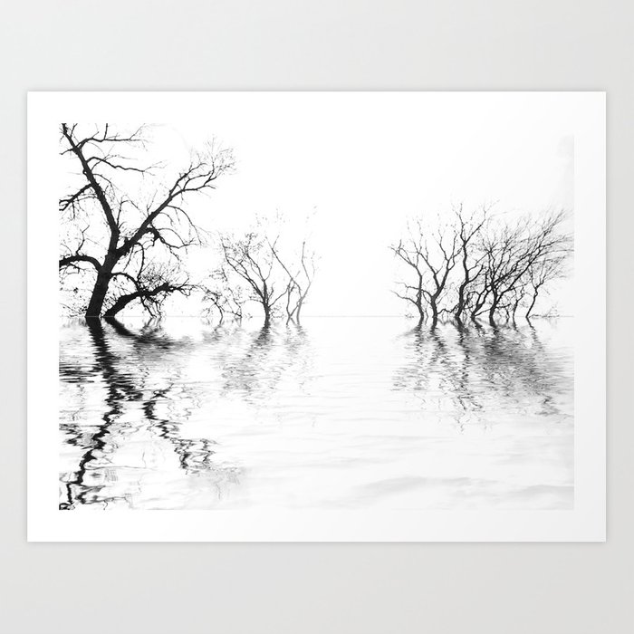Barren Winter Rising #1 Art Print