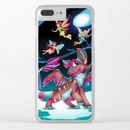 Misha & Fairies Clear iPhone Case