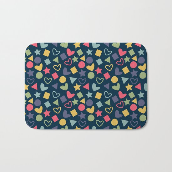 Colorful Lovely Pattern XI Bath Mat