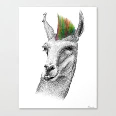 Llamahawk Canvas Print