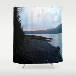 Morning on the Canal Shower Curtain