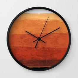 Deserts  Wall Clock