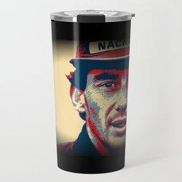 Ayrton Senna Tribute Design II Travel Mug