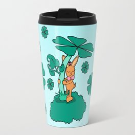 Lucky Bunny Travel Mug