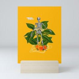 Skeleton bones Mini Art Print