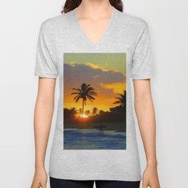 BEACH LIFE Unisex V-Neck