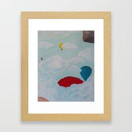 Adventuring Through the Sky Framed Art Print