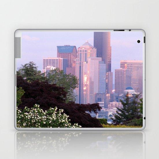 Seattle Glowing • Seattle, Washington Laptop & iPad Skin