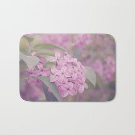 AFE Pink Lilacs Bath Mat