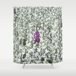 Purple One Shower Curtain