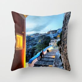 Santorini 29 Throw Pillow