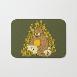 Bitcoin Miner T-shirt Bear Bath Mat
