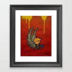 Wing Man Framed Art Print