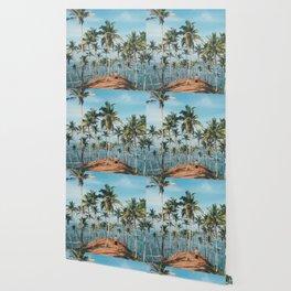 Palm Trees Landscape 02 Wallpaper