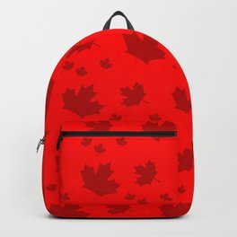 Canada Maple Leaf-Large-Red Backpack