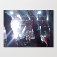 all time low Canvas Prints featuring All Time Low - 3 by ijsw