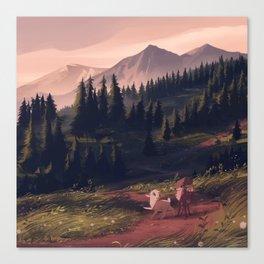 thataway Canvas Print