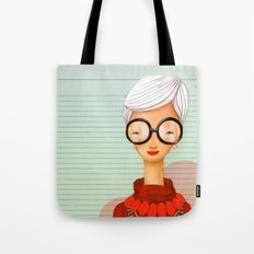 Icons / Iris Tote Bag
