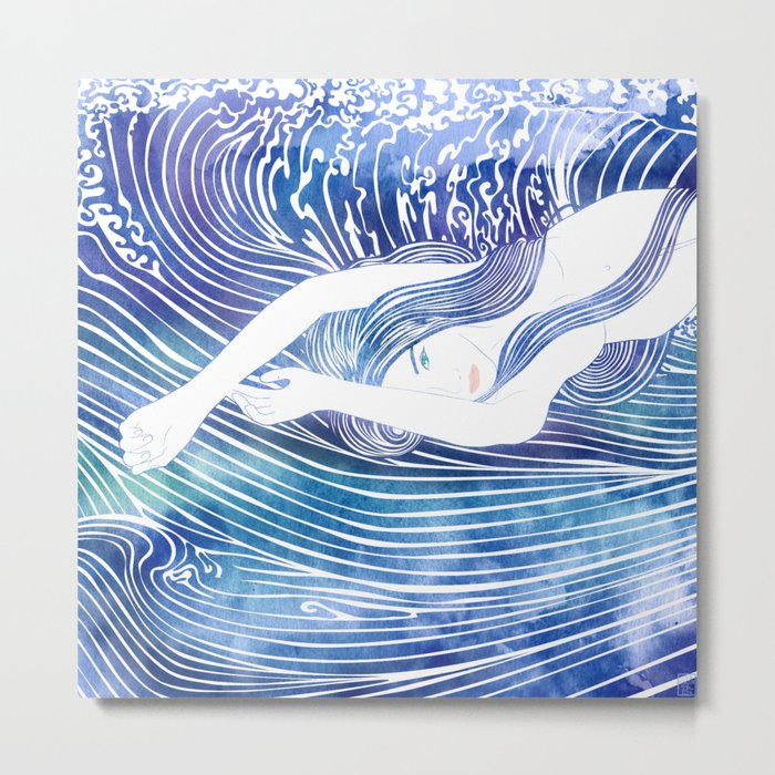 Water Nymph LVIII Metal Print