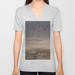 Fly away Unisex V-Neck