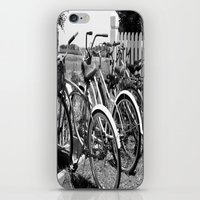 bikes iPhone & iPod Skins featuring Bikes  by McKenzie LeFlore
