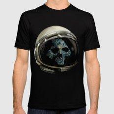 Holy Starman Skull II MEDIUM Mens Fitted Tee Black