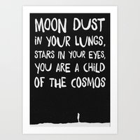 Child of the Cosmos Art Print