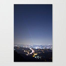 LA Night Canvas Print