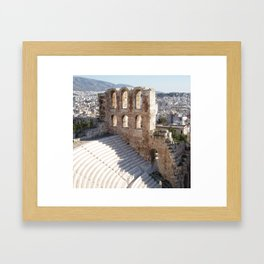 Acropolis Stadium Framed Art Print