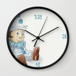 Little Pierrot Wall Clock