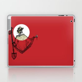 Only GOD Knows Where I Lay Laptop & iPad Skin