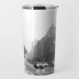 Galoshes in the City Travel Mug