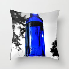 Liquid skyy Throw Pillow