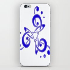 Treble Triskele iPhone & iPod Skin
