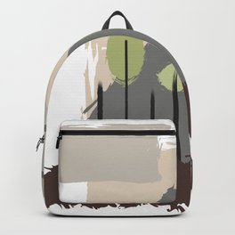 Forest Regrowth Abstract Landscape Backpack