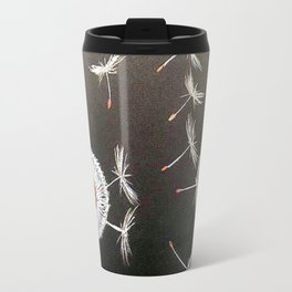 Dandelion blowing Travel Mug
